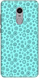 The Racoon Lean printed designer hard back mobile phone case cover for Xiaomi Redmi Note 4. (Rangoli Cy)