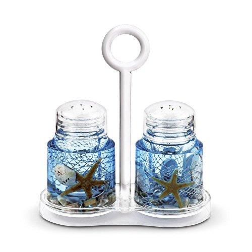 Freelance Eden Acrylic Kitchen & Dining, Salt & Pepper Dispenser...