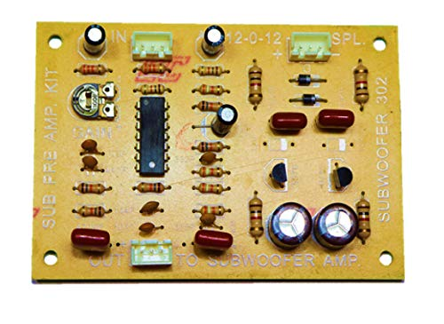 Low Pass Filter, Low Pass Filter for Sub Woofer, Subwoofer Amp Kit, Sub Pre Amp Kit