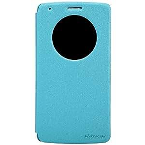 Nillkin® - Coque Housse Etui LG G3 Fresh Slim Folio - Avec fonction Quick Circle - Bleu