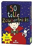 Moses 50 tolle Zaubertricks für kleine Magier | Kinderbeschäftigung | Kartenset