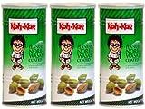 Koh-Kae - Erdnüsse Nori Wasabi Geschmack - 3er Pack -