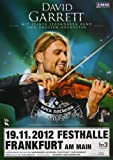 David Garrett - Rock Anthems 2013 - Konzertplakat, Konzertposter