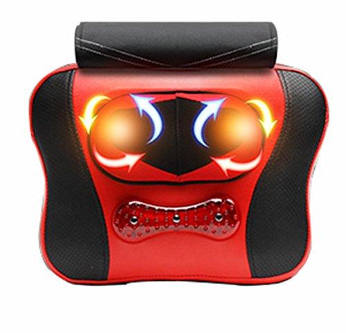 Shiatsu Massage Auto (Massage Kissen Zervikale Wirbelsäule Massage-Tool Beheizte Multifunktions-Knet-Massage Kissen Kissen für Hals Taille Bein)
