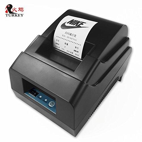 Thermo-Drucker 58mm POS Rechnung Bill Rolle Druck Kostenlose Lieferung
