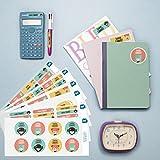Pack 218 étiquettes personnalisées école Kokeshi par Ludilabel | Haute Qualité Fabrication 100% Française | étiquettes vêtements enfants et objets résistants et faciles à coller.