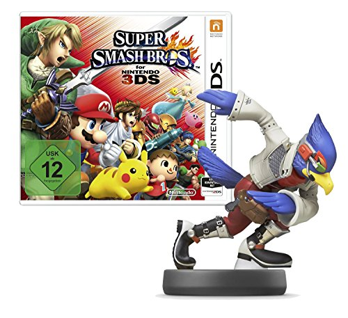 falco amiibo Super Smash Bros. for Nintendo 3DS + amiibo Smash Falco