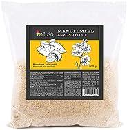 MeaVita Farina di Mandorle Meavita, Naturale, Scottata, 1 Confezione (1 X 500G) in Pratico Sacchetto - 520 g