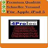 Apple iPad Air 1 + 2 (2Stück) Displayschutzfolie Bildschirmschutzfolie KRISTALLKLAR von 4ProTec - passgenau für das neue iPad der 5. Generation
