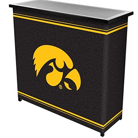 University of IowaT 2 Shelf Portable Bar w/