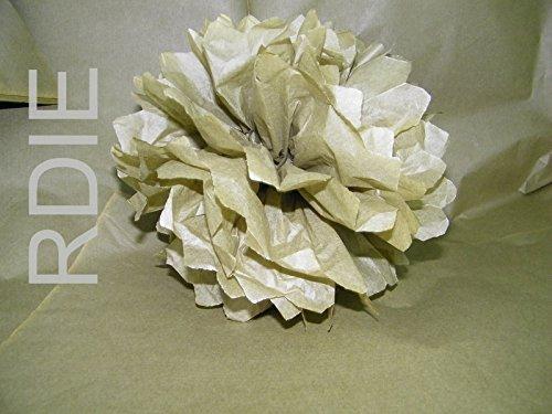 96hojas de papel de seda verde espuma