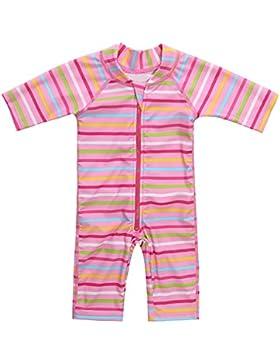 CharmLeaks Baby - Einteiler Badeanzug für Säugling Kinder mit Streifen UV-Schutz 50+ Von 3 Monate Bis 3 Jahre...