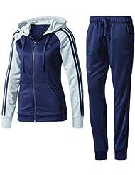 adidas Re-Focus Ts Chándal Mujer, Azul (Maruni/Vertac), XL