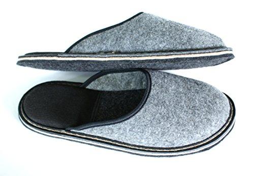 Revise Pantofole - Scarpette - scarpe da casa in feltro con suola in gomma o feltro - alta qualità feltro suola