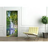 Poster Autoadesivo porta e pareti - ELEPHANT SAFARI - murale foglio di porta