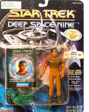 (Jake Sisko , Sohn von Commander Sisko - Actionfigur - Star Trek Deep Space Nine von Playmates)