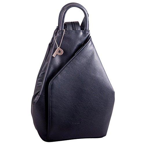 Picard Damen Rucksack Echtes Leder Backpack 21x31x10 cm (BxHxT), Farbe:Ozean