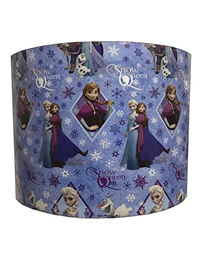 DELPH DESIGN LIGHTING LTD 20,3cm Ceiling Disney's Frozen ELSA and Anna Snow Queen Lampshades (Frozen Queen Snow Elsa)