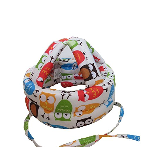baby-infant-toddler-safety-helmet-head-protection-cap-owl-creamadjustable