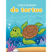 Livre de coloriage de tortue