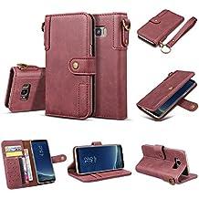 Alfort Samsung S8 Plus Funda Carcasa Samsung Galaxy S8 Plus PU Cubierta Vintage con Soporte Plegable