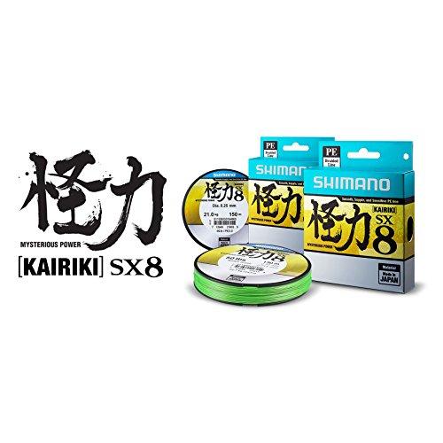 Shimano Kairiki PE 0.25mm SteelGray 21.0kg,300m geflochtene Schnur