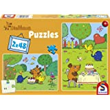 Schmidt Spiele 55968 - Die Maus, Alles Gute, liebe Maus, 2 x 48 Teile