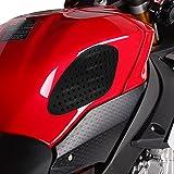 Adhesivo Lateral De Tanque Honda Africa Twin XRV 750 Racetecs Grip S negro