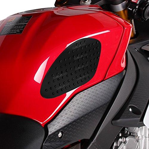 Poignées lateraux de réservoir moto Husqvarna TR 650 Terra Motea Grip S noir