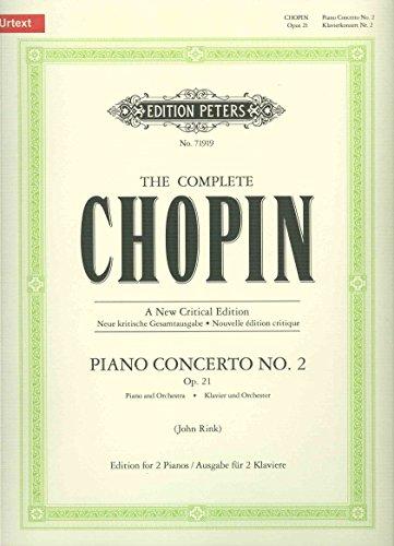 Concert 02 F Op.21 Piano por Frédéric Chopin
