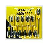 Stanley Tools STA060212 PH/SL/PZ/TX Standard-SchraubendreherGelb / Schwarz (Set von 12)
