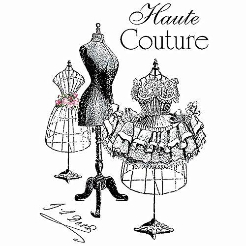Color Bügeltransfer, DIN A4, filigran ohne Hintergund   Textilien mit Bügelmotiven verzieren   Bilder schnell & einfach aufbügeln   Nostalgie Serie   DIY Textildesign (Haute Couture) Vintage Couture-mode