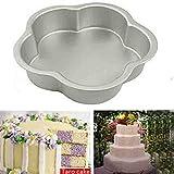 Valentinstag-Geschenk für geliebtes Aluminium Blume Form Kuchenform Maker - Best Reviews Guide