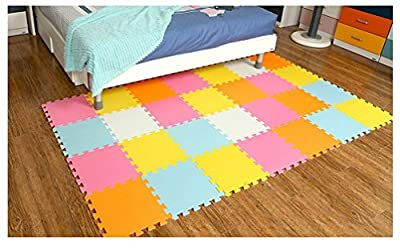 Menu Life Soft Play Mats for Kids Pure Colour EVA Foam Mats Flooring Jiasaw Puzzle Mats produced by Menu Life - quick delivery from UK.
