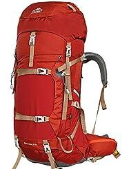 Topsky Outdoor Sports Randonnée Camping Escalade Sac à dos professionnel Alpinisme Sac Grand Sac à Dos de Randonnée Voyage Mountaineer imperméable avec housse de pluie (peut Extension à l)