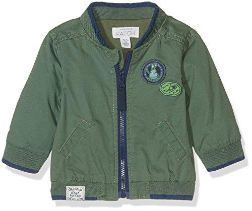 Pumpkin Patch Baby-Jungen Jacke Bomber Jacket Green (Duck Green), 68