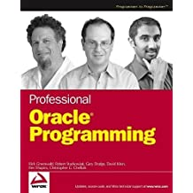 Professional Oracle Programming by Rick Greenwald (2005-06-17)