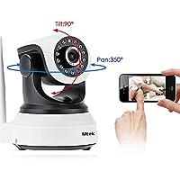 IP WiFi P2P Cámara Video Vigilancia IR Nocturna HD 960P 1,3 Megapixels con detección de movimientos. MarvTek con Micrófono y altavoz. Resolución HD (1280 * 960P) Con Rotación Horizontal de 355º y Vertical de 90º.