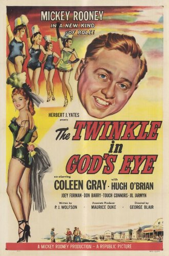 The Twinkle in occhio di Dio poster Movie 11x 17pollici-28cm x 44cm Mickey Rooney Coleen Gray Hugh Parmeter Joey Forman do 'rosso' Barry