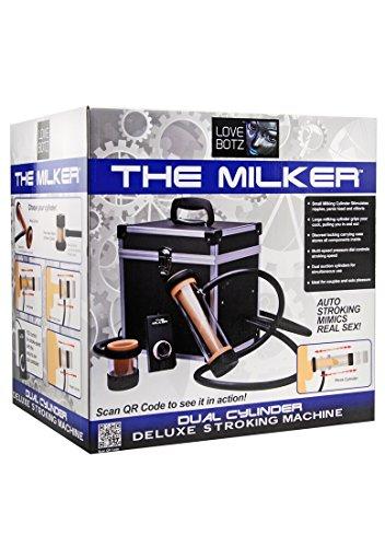 lovebotz von XR Marken der Milker Automatik Deluxe Stroker Maschine, Schwarz