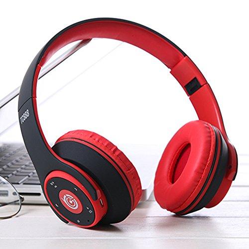 QINPIN Kabelloser BT 4.1-Kopf-Sport-Fitnessstudio-Kopfhörer mit Stereo Kopfhörer