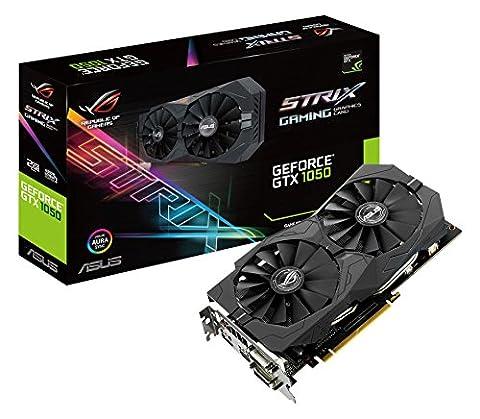 ASUS ROG STRIX-GTX1050-2G-GAMING NVIDIA GeForce GTX 1050 2 GB GDDR5