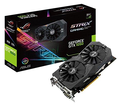 Asus GeForce GTX 1050 ROG STRIX-GTX1050-2G-GAMING Scheda Grafica da 2 GB, DDR5