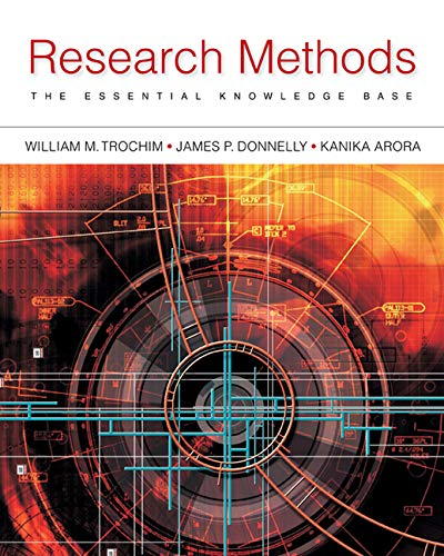 Research Methods: The Essential Knowledge Base -
