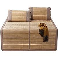 Comparador de precios LIANGJUN Verano Estera Para Dormir Colchón Bambú Almohadilla Cama Respirable Resistente Al Desgaste Cómodo, 4 Tamaños Disponibles, 2 Tipos ( Color : 1# , Tamaño : 180X198cm ) - precios baratos