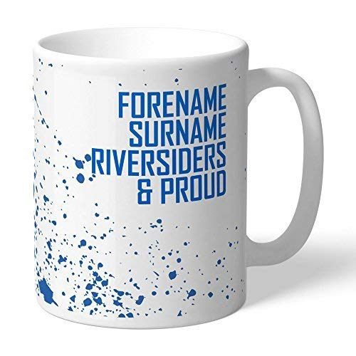 Content Gateway Official Personalised Blackburn Rovers FC Proud To Be Mug - FREE PERSONALISATION