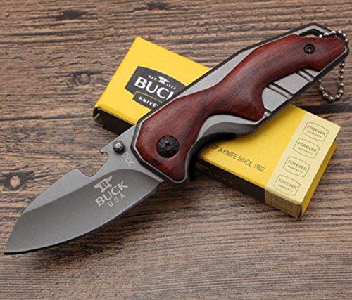 KNIFE SHOP en Plein air Survie Couteau Outil Pliant Multifonction Couteau de Protection-X70