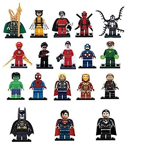 AVENGERS SUPERHEROES Hot 18 Sets MiniFigures Super Heroes MARVEL.DC Series