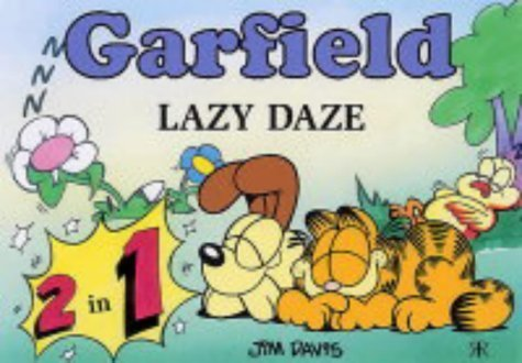 Lazy Daze (Garfield 2 in 1 Theme Books) by Jim Davis (2004-10-21)