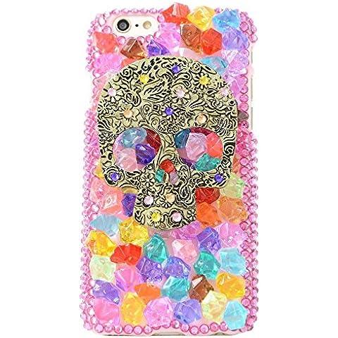 Spritech™ 3D spooff moda mujer Punk Dceor caso cráneo chica bestdeal adaipt Diseño funda rígida Exploradora caramelo, style-6, Ipod Touch